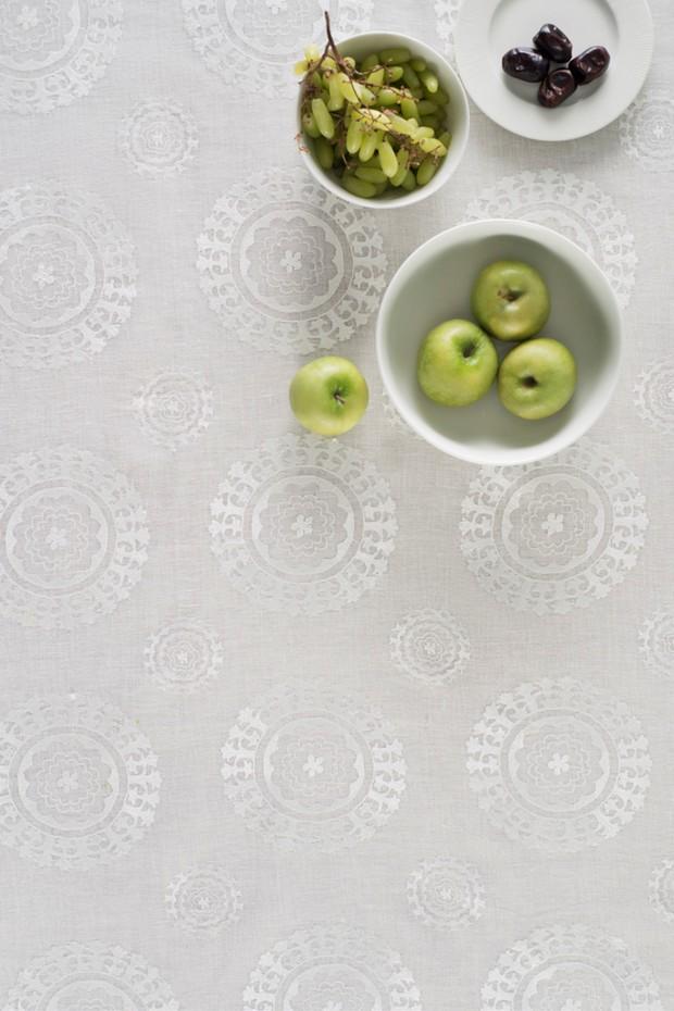 Anatolia Ivory Linen Table Cloth