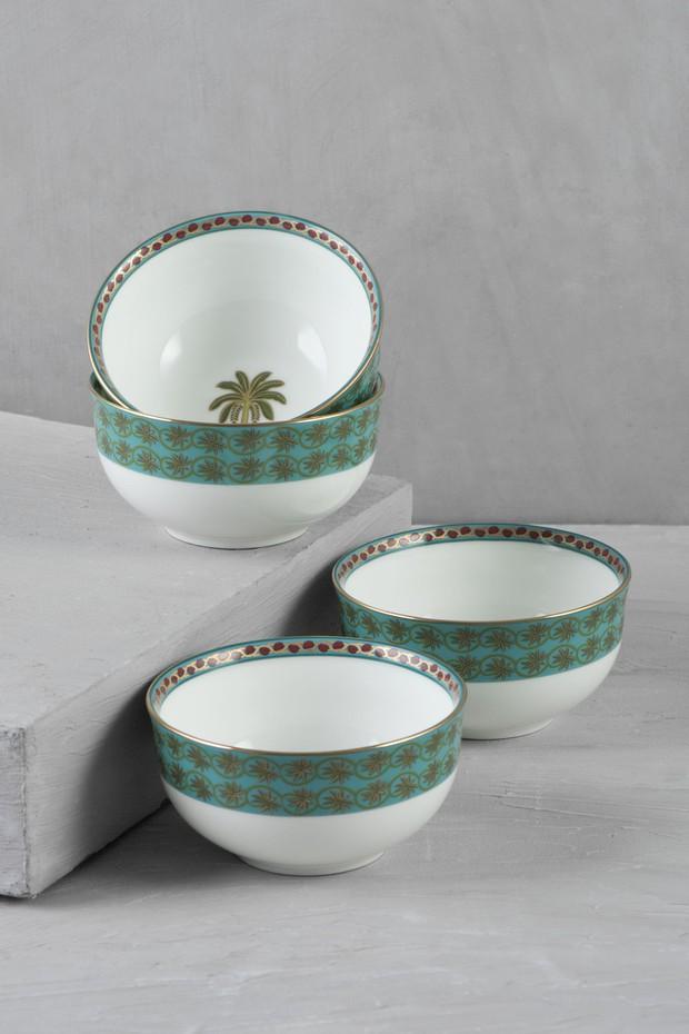 Indus- 4 Soup Bowls
