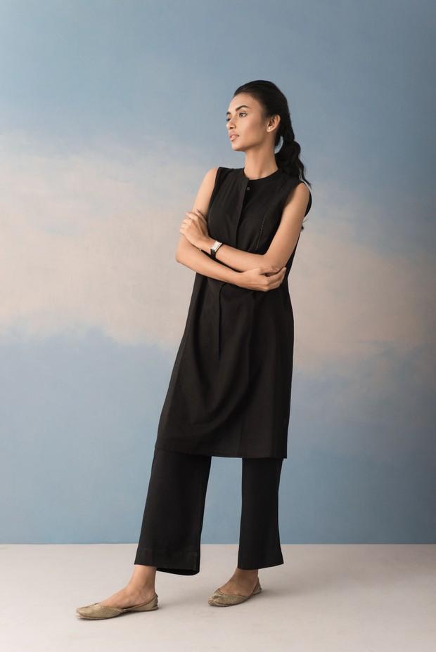 Rozana Fariha Cotton Malkha Tunic
