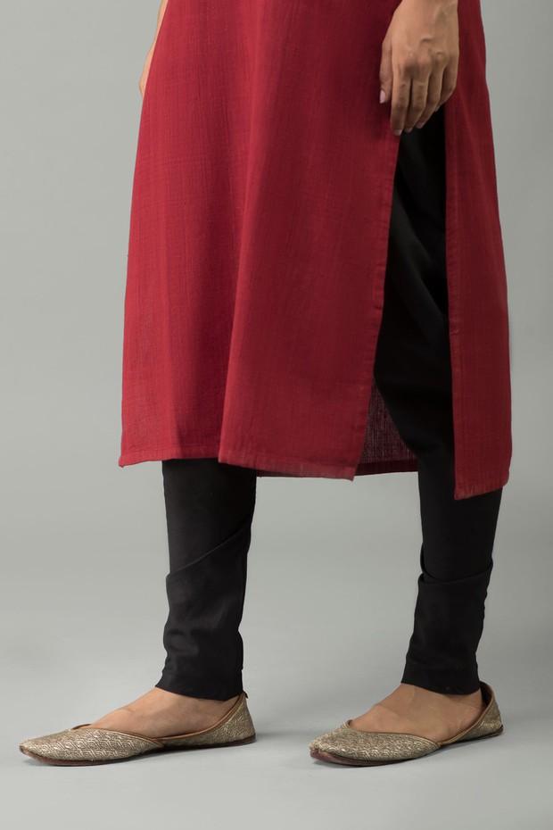 Rozana Cotton Dogri (Black)