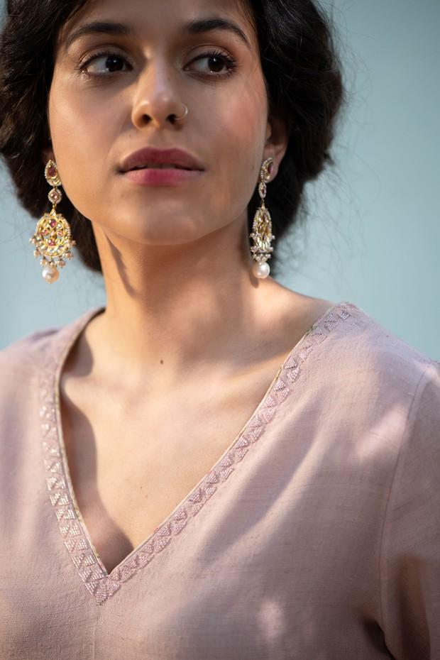 Masakali Shama Rumeha Matka Silk Kurta