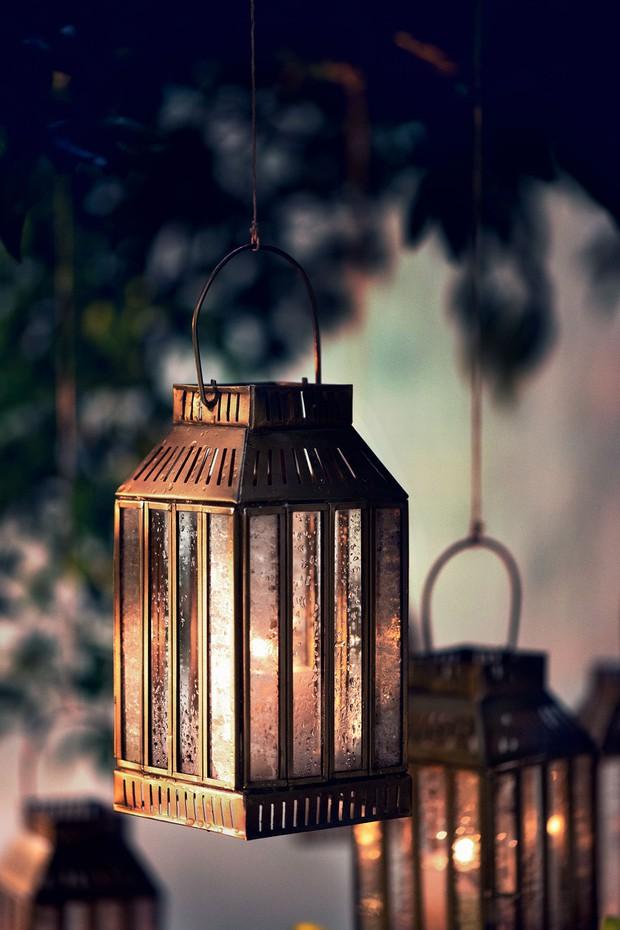 Alaia Brass Lantern (Mini)