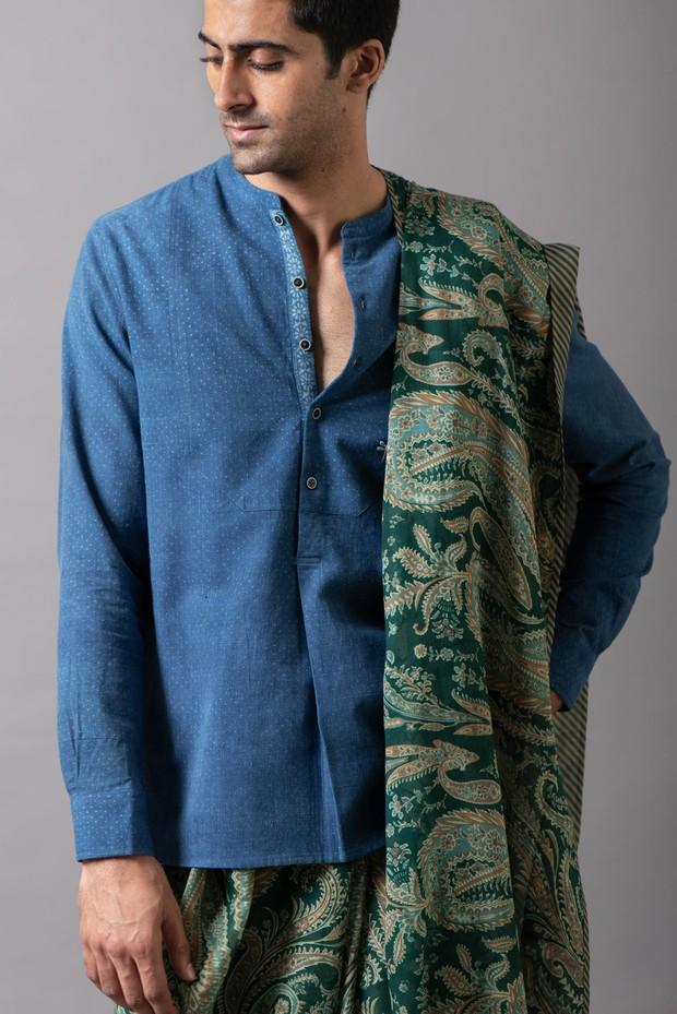 Marrakech Ludiya Yoke Cotton Shirt