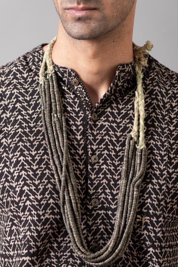Marrakech Reza Yoke Cotton Shirt