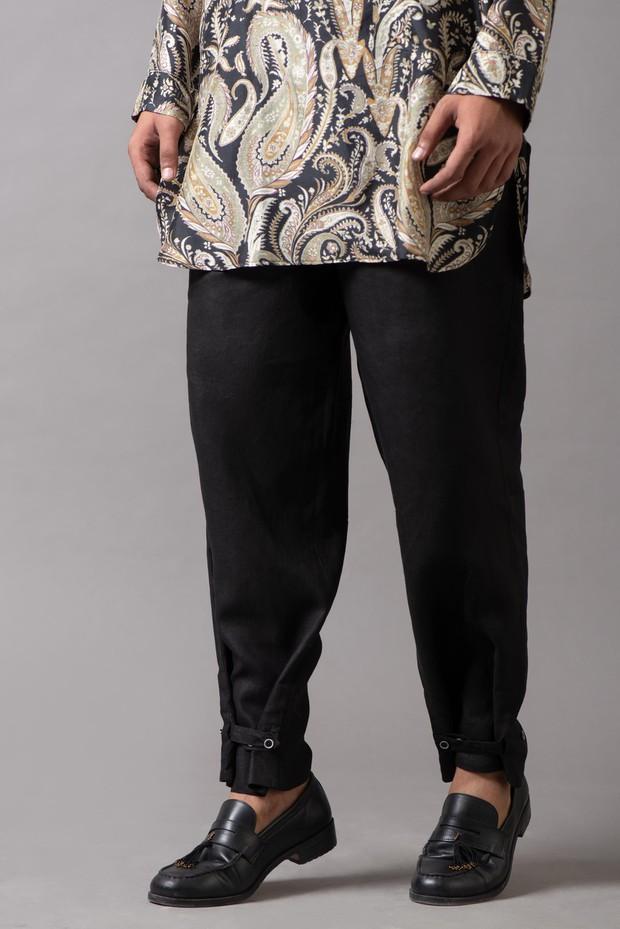 Marrakech Wide Leg Linen Pant
