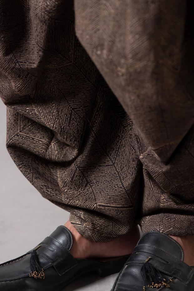 Marrakech Morvi Cotton Pant (Siyahi)