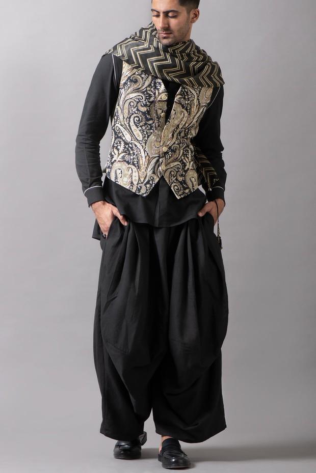 Marrakech Morvi Cotton Pant (Black)