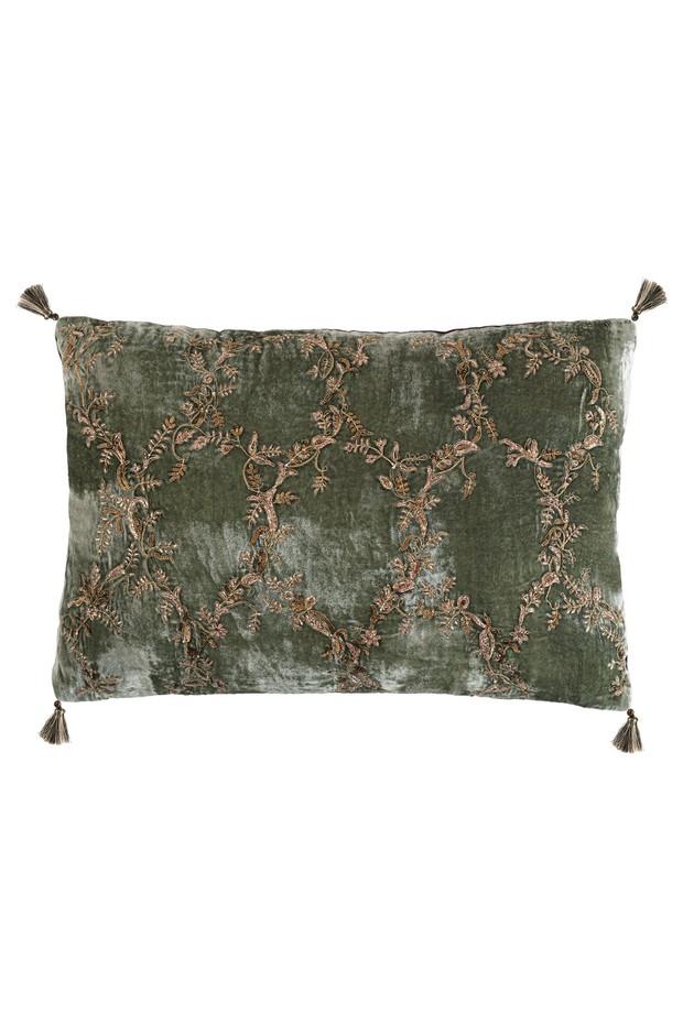 Mehrab Tara Silk Velvet Cushion