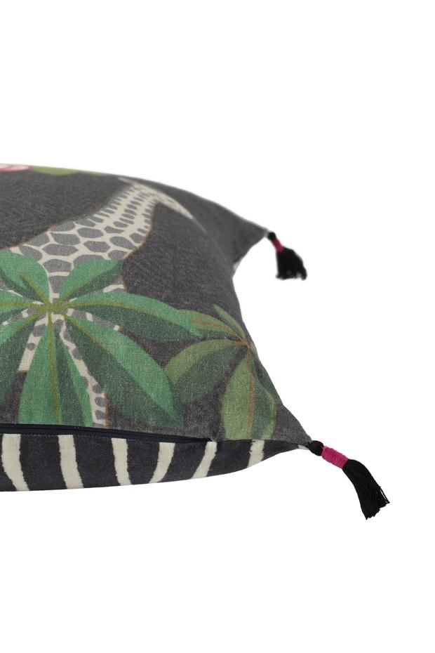 Savannah Sundown Linen Cushion