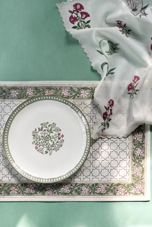 Set of 4- Jessamine Dinner Plate