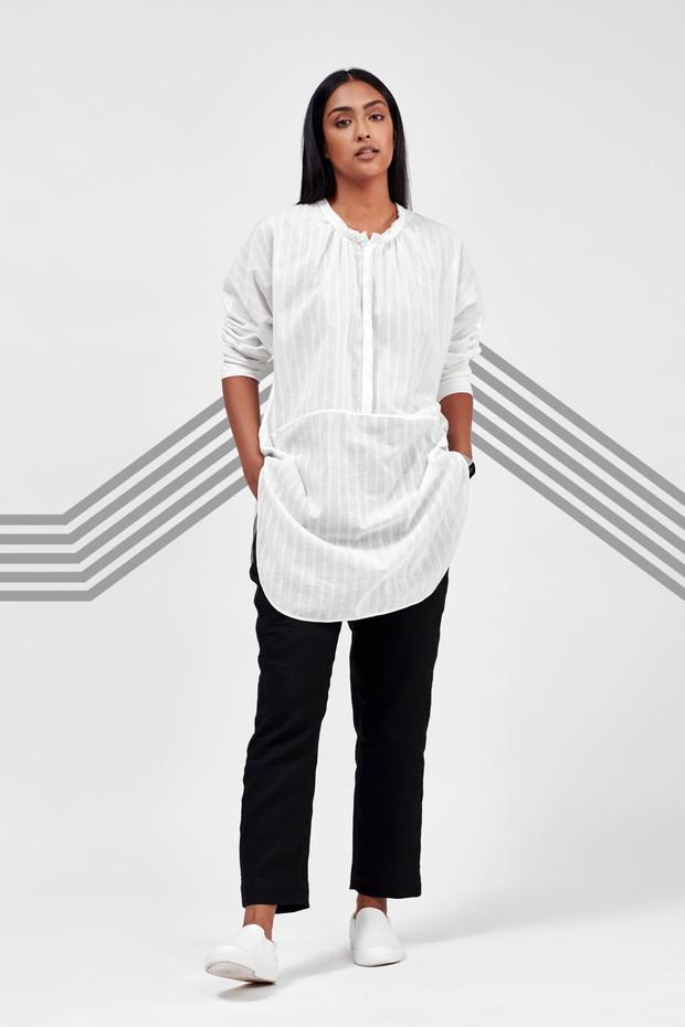 Flow Linen Pants (Black)