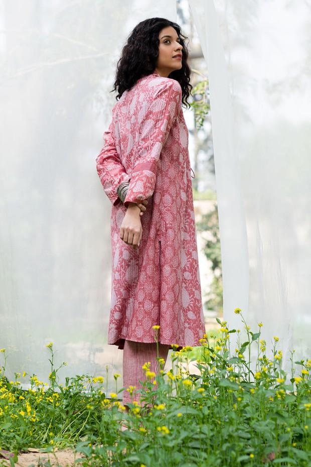 Masakali Rozana Bedouin Long Silk Modal Overlay