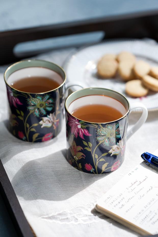 Set of 2- Nishaat Tea Mug (Indigo)
