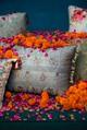 Sitara Jaal Silk Cushion