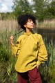 Crow Canary Yellow Summer Top