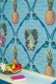 Palmyra Bird Song (Aqua)